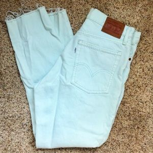 Teal Levi's